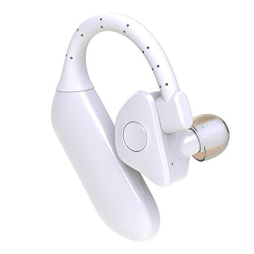 Bescita Drahtlose Bluetooth-Kopfhörer Sport Stereo Kopfhörer Mini Ohrhörer für iPhone (weiß)