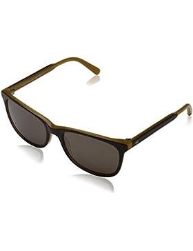 Tommy Hilfiger Unisex-Erwachsene TH 1232/S 8G Sonnenbrille, Schwarz (Bw Opl Honey), 55