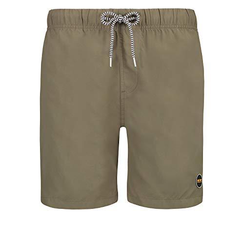 Shiwi - Herren Badehose - Solid Mike - Kaki Fashion Solid Slim Short