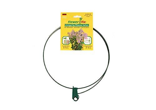 4 pezzi flower-fix porta-impianti porta arbusti regolabile individualmente, robusto e resistente alle intemperie, perfetto per piante perenni, arbusti, fiori ed erbe, l da Ø45-75cm