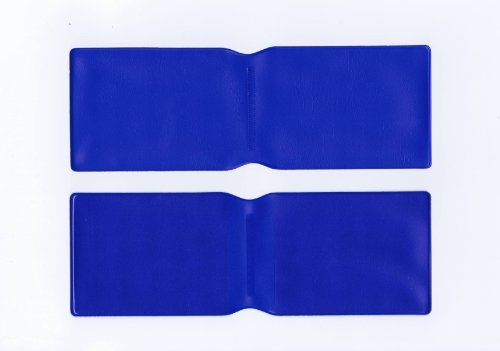50x Dunkelblau Kunststoff Oyster Card Wallet Abdeckung/Halterung/