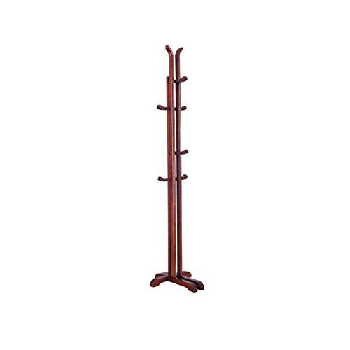 VIOY Regal-Organisator-Behälter-Regal-Teiler für Schränke Lagerregal-Aufbewahrungsbehälter-Mantel-Stand im festen hölzernen Mantel-Hut-Regenschirm-Boden-stehendem Regal-Wesensmerkmale,A -