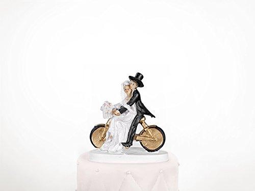 Cake Topper torta matrimonio decorazione ¡su bicicl-Altezza 13cm