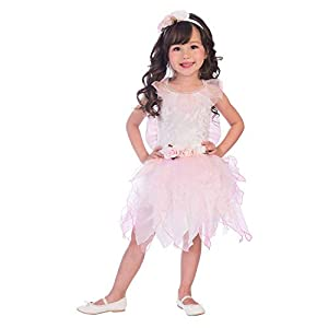 amscan- Rose Fairy 2-3 Years Disfraz, Color rosa (9904095)