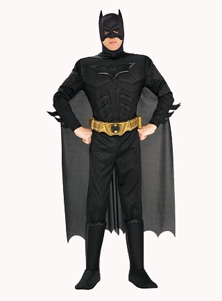 Superheld Catwoman Kostüm (Batman The Dark Knight Deluxe Herren Kostüm Gr.)