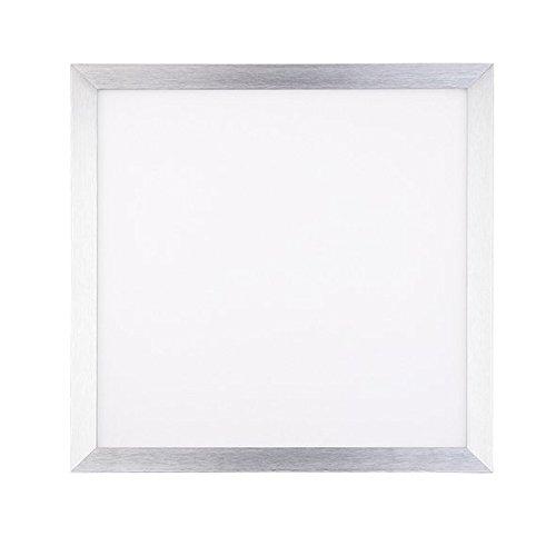 3-panel-technik (nobilé LED Einbauleuchte Panel Flat Q1 alu 18W, dimmbar 1-10V, warmweiß NO-1560141243)