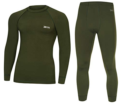 Freenord WARM LINE Herren Funktionswäsche Thermoaktiv Atmungsaktiv Base Layer Set Outdoor