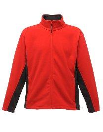 Regatta Herren Fleece Jacke trainieren II Medium Classic Red/Ash Ash Fleece