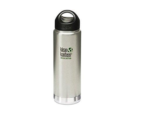 Klean Kanteen Edelstahlflasche Flasche Insulated, Silber, 0.592 Liter