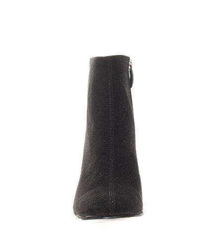 Tronchetto donna Cafè Noir LD927 nero con strass sul tacco Nero