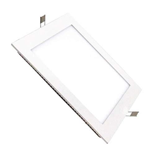 Placa LED Cuadrada 20W Panel Superslim 4000k-4500k Blanco Frio Empotrado ONSSI LED