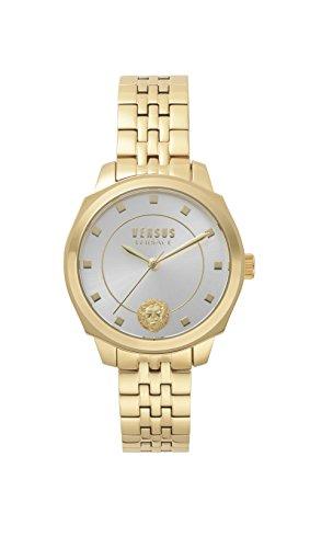 Versus by Versace Reloj Analogico para Mujer de Cuarzo con Correa en Acero Inoxidable VSP510618