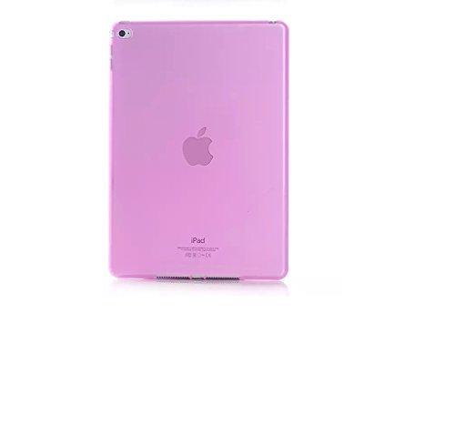Melon Baby iPad AIR2Case Schutzhülle Ultra Slim Leichte TPU Weichem Gummi Case für Apple iPad Air 2(iPad 6) Modell 2014, Hot Pink Hot Pink Tpu Case