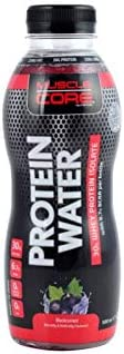 MUSCLE CORE NUTRITION Protein Water Black Currant, 500 ml