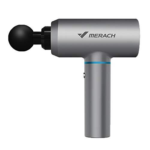 Tägliche Notwendigkeiten Massagepistole Muskelrelaxant Eignung Hochfrequenz Vibration Stumm Massage Hammer elektrische Faszie Pistole Physiotherapie Instrument (Color : B) Hahn-chip