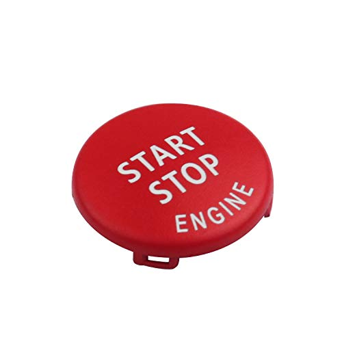 Maxiou Bouton d'arrêt de démarrage pour châssis E 1, 3, 5, 6, séries X1, X3, X5, X6, bouton d'arrêt de démarrage, interrupteur de moteur de remplacement d'allumage