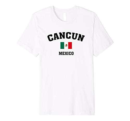 c64566f231de10 ... Playa del Carmen and more. Cancun Mexico with Flag T Shirt