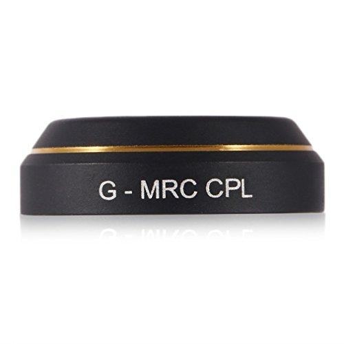 Rantow Quadcopter G-HD CPL Polarisierte Filterlinsenfilter für DJI Mavic Pro Drone Keine Werkzeuge benötigte CPL Filter für Mavic Pro Quadcopter