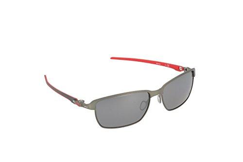 794d61ebfcefa6 Oakley Tinfoil 601806 58, Montures de lunettes Homme, Noir Carbon Black  Iridium Polarized