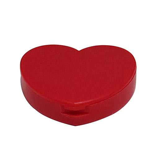 c Rot Pille Tablette Aufbewahrungsbox Medizin Ordner Behälter Halterung Halter ()