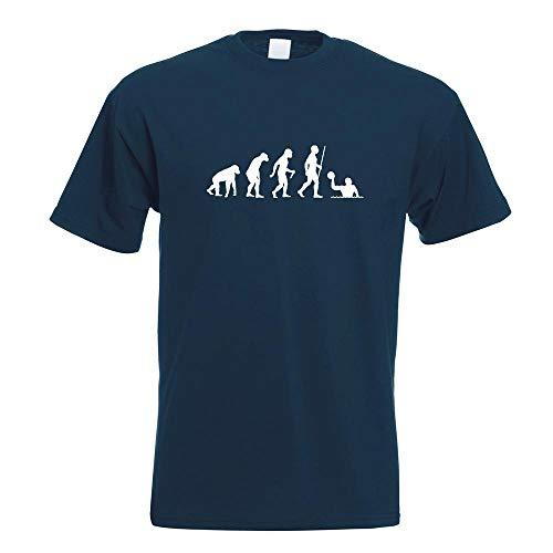 Wasserball Evolution T-Shirt Motiv Bedruckt Funshirt Design Print
