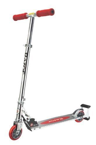 Razor Tretroller Spark Scooter mit 125 mm Räder Red, one size - 2-rad Razor Roller