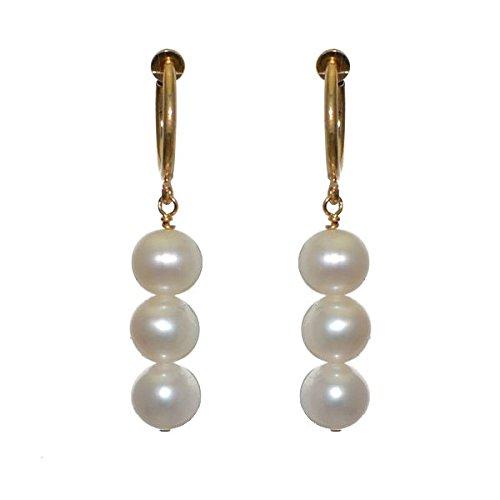 fresca-trio-cerceau-gold-plated-8mm-freshwater-pearl-clip-on-earrings