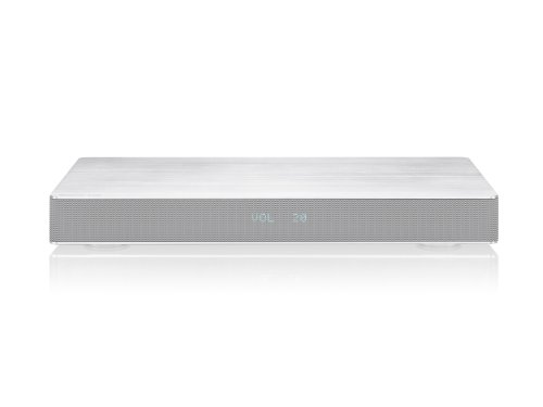 Panasonic SC-HTE80EG-S Kompakte Soundbase (Bluetooth, NFC, HDMI in, HDMI out mit ARC, optischer Eingang, AUX-Eingang) silber