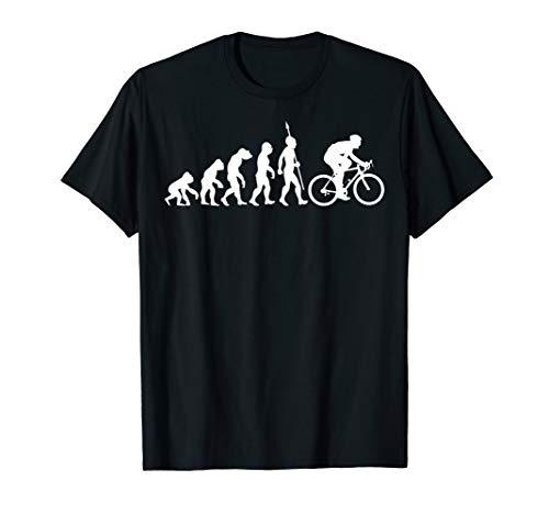 Fahrrad Evolution Radsport Biker Radfahrer Radfahren T-Shirt - Radfahren Lustige T-shirt