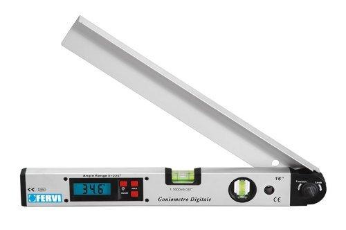 Winkelmesser Goniometer (Digitaler Goniometer / Winkelmesser und Wasserwaage mit zwei Ampullen)