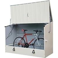Trimetals protectacycle jardín bicicleta almacenamiento.