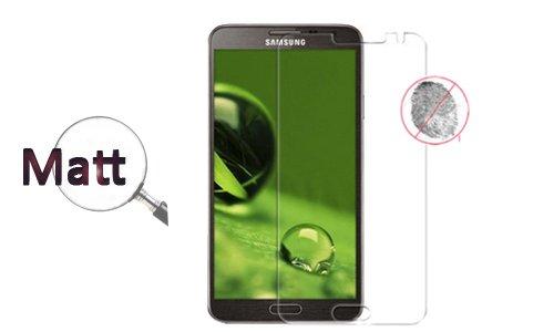 FONFON 2 x Schutz Folie Matt Bildschirm Anti Finger für Samsung Galaxy Note 3 Neo N7505