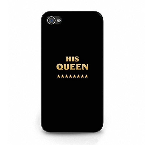 Boyfriend and Girlfriend Lovers Iphone 4/4s Case Fashion Unique King Queen Matching Couple Phone Case Cover for Iphone 4/4s Best Friends Dream Color106d