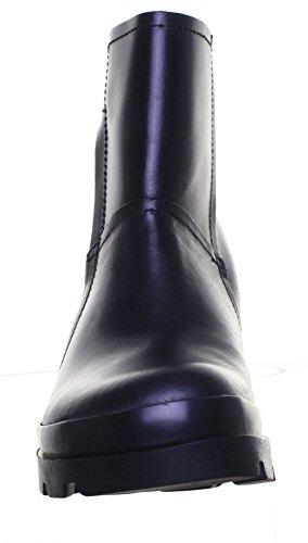 Fly London murl pour femme Cheville en cuir BUREAU travail Bottes Black FV1