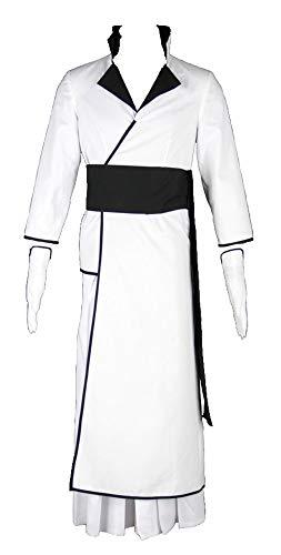 Chong Seng CHIUS Cosplay Costume Outfit for First Espada Coyote Starrk Arrancar Version 1