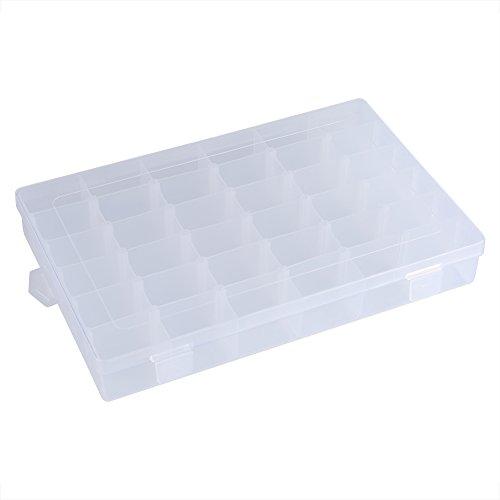 Sorand Caja De Almacenamiento De Plástico Transparente