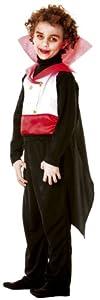 César - Disfraz de Drácula para niño, talla 7 años (B904-001)