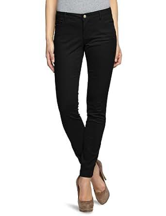ONLY Damen Hose 15072920/SKINNY LOW LIVA PANT, Gr. 34/32, Schwarz (BLACK)