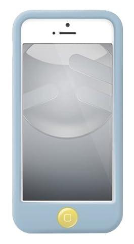 SwitchEasy COLORS BLEU CIEL silicone Coque iPhone 5