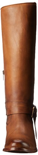 Frye Melissa Knotted Tall Cuir Botte Tan