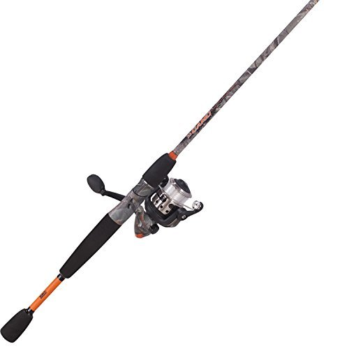 Zebco Camo 20 Size Medium Spin Combo (2-Piece), 6-Feet by Zebco