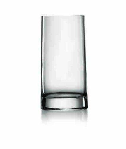 Unbekannt Veronese 43 cl High-Tech Glaskristall Hi-Ball Geschenkbox, transparent, 6 Stück Hi-ball Glas Set