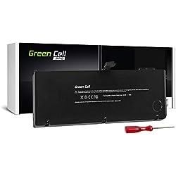Green Cell® A1321 Batterie pour Apple MacBook Pro 15 A1286 (Mid 2009, Mid 2010) Ordinateur PC Portable (6700mAh 10.95V Noir)