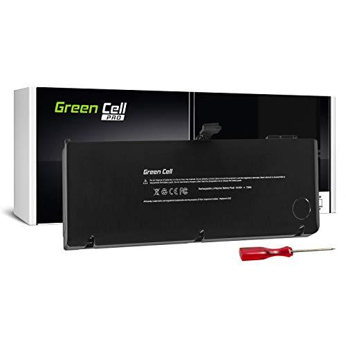 Green Cell® PRO Serie A1321 Laptop Akku für Apple MacBook Pro 15 A1286 (Mid 2009, Mid 2010) Li-Polymer ATL Zellen 73Wh - Pro Series Akku
