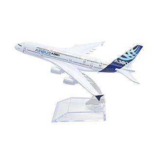TANG DYNASTY(TM) 1:400 16cm Air Bus Original Airbus A380 Metal Airplane Model Plane Toy Plane Model
