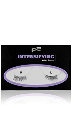 p2 cosmetics Intensifying False Lashes, 3er Pack (3 x 1 Stück)