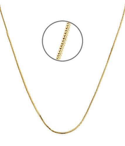 Gold Plated Flat Chain for Women by GoldNera
