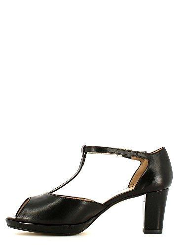 GRACE SHOES 1021 Sandalo tacco Donna Nero