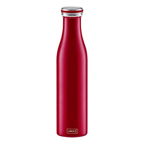 Lurch Thermoflasche Thermo-Flasche für heiße und kalte Getränke aus...