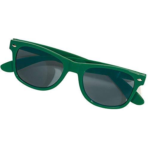 noTrash2003 moderne und sportliche Sonnenbrille für Damen, Herren und Nerds im Clubmaster-Retro-Stil, UV400-Schutz, versch. ()